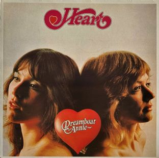 Heart ‎- Dreamboat Annie (LP) (VG-/VG)